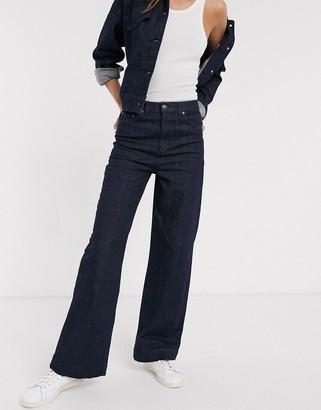 InWear Emone wide leg jeans in navy
