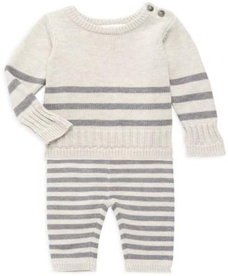 Miniclasix Baby Boy's 2-Piece Striped Sweater & Leggings Set