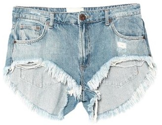 One Teaspoon ONETEASPOON Denim shorts
