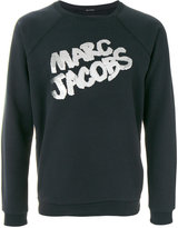 Marc Jacobs metallic logo pullover
