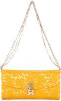 Dolce & Gabbana Taormina lace clutch - women - Cotton/Satin - One Size