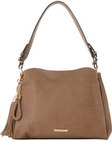 Dune Charm-detail faux-leather shoulder bag