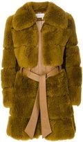 Chloé shearling fur coat