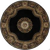 Momeni Atlantis Hand-Carved Wool Round Rug