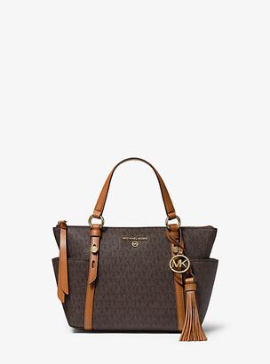 Michael Kors Sullivan Small Logo Top-Zip Tote Bag