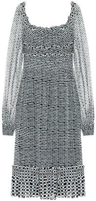 Proenza Schouler Printed silk crepe dress