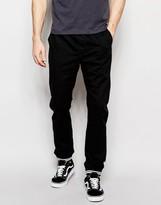 Brave Soul Cuffed Chino Contrast Rib Trousers