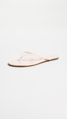 TKEES Glossy Flip Flops