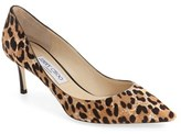 Jimmy Choo Women's 'Romy' Genuine Calf Hair Pointy Toe Pump