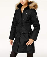 Madden-Girl Juniors' Faux-Fur-Trim Parka, A Macy's Exclusive