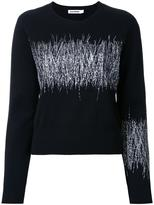 Jil Sander embroidered jumper - women - Virgin Wool - 36