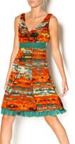 Lulu-H Layered Print Dress