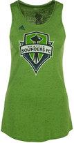 adidas Women's Seattle Sounders FC Logo Glitz Tank Top