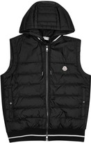 Moncler Black Quilted Shell Gilet