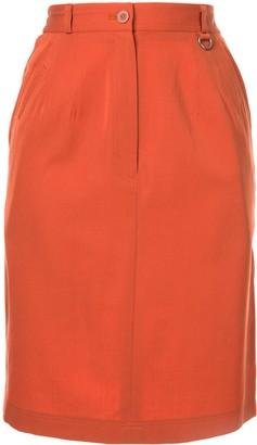 Christian Dior Pre-Owned Short Straight Skirt
