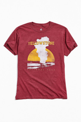 Yellowstone National Park Geyser Tee