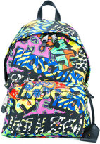 Moschino graffiti print backpack - men - Polyester - One Size