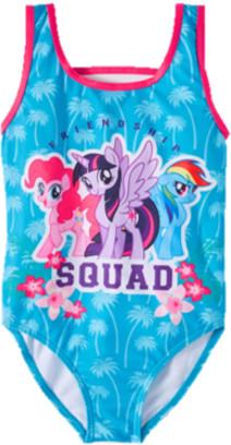 My Little Pony Minions Girls One Piece Swimsuit, Sizes 4-6x