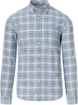 Denim & Supply Ralph Lauren Men's Plaid Cotton Oxford Shirt