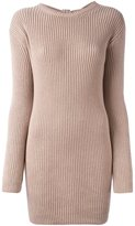 Valentino cashmere open back jumper