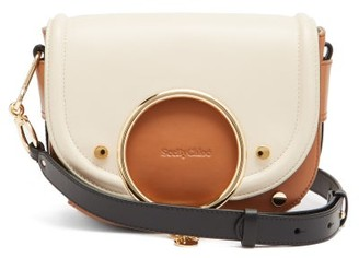 See by Chloe Mara Leather Cross-body Bag - Beige Multi