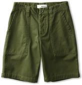 Burton Boys' Military Chino Short (Little Kids/Big Kids) (Olive) - Apparel