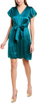 Rebecca Taylor Tie-Front Shift Dress