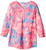 Lilly Pulitzer Mini Palmetto Tunic Top (Toddler/Little Kids/Big Kids)