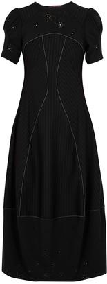High Mezmerize black panelled jersey dress