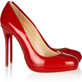 Filo 120 patent-leather pumps