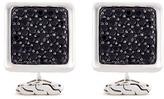 John Hardy Sapphire silver square cufflinks
