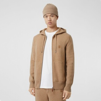 Burberry Monogram Motif Cahmere Blend Hooded Top