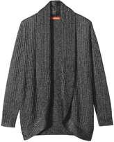 Joe Fresh Women's Sparkle Cocoon Cardi, Black (Size M)