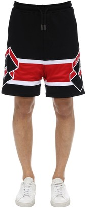 But Not Lotto Logo Cotton Sweat Shorts