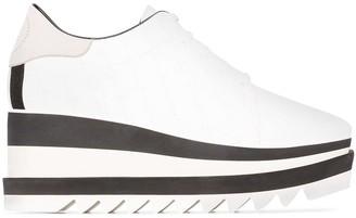 Stella McCartney Sneak-Elyse flatform sneakers