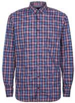 BOSS ORANGE Cotton Check Printed Shirt