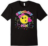Emoji Happy Birthday Shirt For Girls, Kids, Gift