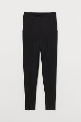 H&M MAMA Slit-detail Leggings