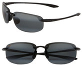 Maui Jim Men's 'Ho'Okipa - Polarizedplus2' 63Mm Sunglasses - Black