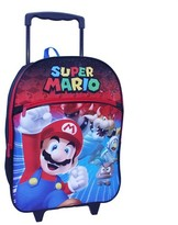"Nintendo Mario 16"" Rolling Backpack"