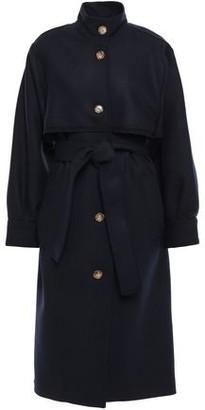Victoria Beckham Wool-blend Twill Trench Coat
