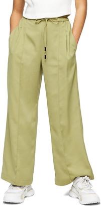 Topshop Cherry Wide Leg Pants