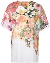 MM6 MAISON MARGIELA floral print T-shirt