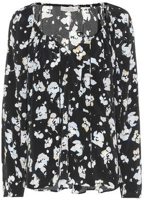 Schumacher Dorothee Artistic Blossoms silk-blend blouse