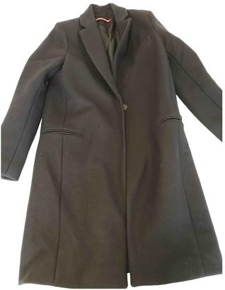Comptoir des Cotonniers Navy Wool Coats
