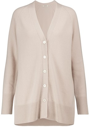 S Max Mara Uranio wool and cashmere cardigan
