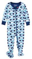 Hatley Cop Cars Organic Cotton Fitted One-Piece Pajamas
