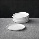 Crate & Barrel Set of 8 Mercer Appetizer Plates