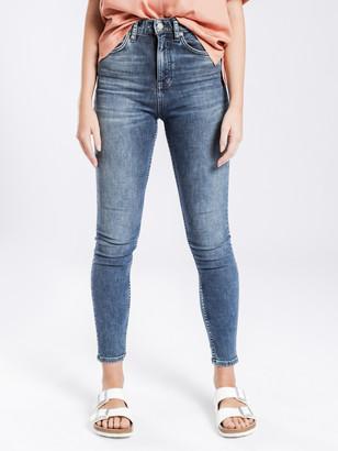 Nudie Jeans Hightop Tilde Skinny Jeans in Abbot Blues