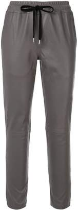 Inès & Marèchal drawstring-waist slouchy trousers